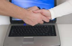handshaking дела Стоковая Фотография RF