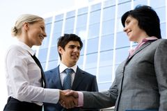 Handshaking Royalty Free Stock Photo