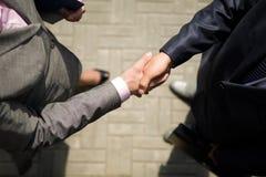 handshaking fotografia royalty free