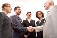 Handshaking Royalty Free Stock Images