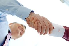 Handshaking Stock Photography