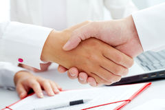 Handshaking Royalty Free Stock Image