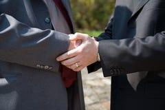 handshaking Obraz Royalty Free