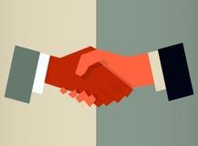 handshaking Illustration de Vecteur