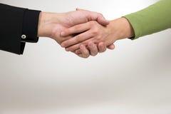 handshaking Стоковое Изображение RF