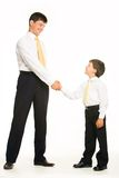 Handshaking Royalty Free Stock Photography