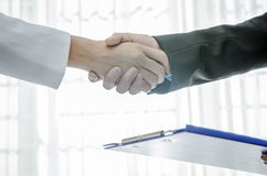 Handshaking Stock Image