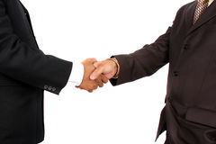 Handshaking Businessman Royalty Free Stock Photography