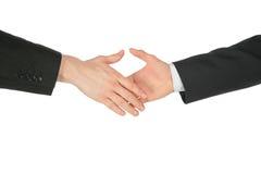 Handshaking hands Stock Image