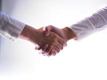 Handshaking - Team Work Royalty Free Stock Photo