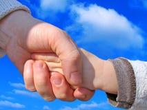 handskakning Royaltyfri Bild