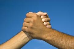 handskakning Royaltyfria Foton