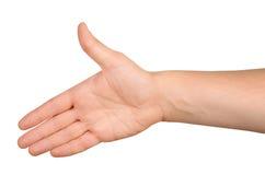Handskakning Arkivbild