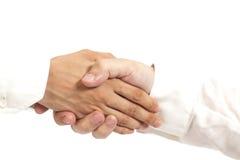handskakning Royaltyfria Bilder