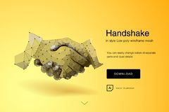 handskakning Aff?rsm?n som g?r handskakningen - aff?rsetikett-, sammanslagning- och f?rv?rvbegrepp Abstrakt begrepp av aff?rshand royaltyfri illustrationer
