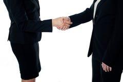 handskakning för affärsavtal arkivbilder