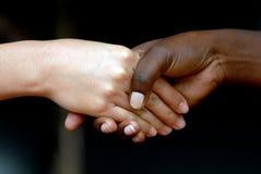 handskakningar Royaltyfria Bilder