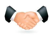 handskakningsymbol Royaltyfri Fotografi