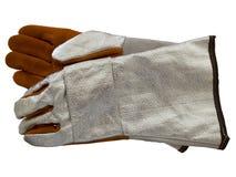 Handskar för termiskt skydd Arkivbild