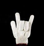 Handskar I ÄLSKAR DIG Fotografering för Bildbyråer