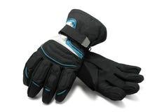 handskar skidar royaltyfri bild