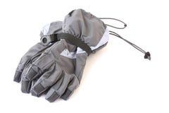 handskar skidar Arkivfoton