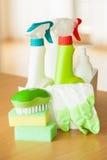 Handske för svamp för borste för sprej för lokalvårdobjekthushåll Royaltyfri Bild