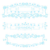 Handsketched vector design elements. Vector illustration Royalty Free Stock Photography