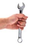 handskiftnyckel Fotografering för Bildbyråer
