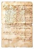 Handskrift royaltyfria bilder
