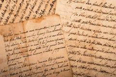 handskriftar arkivfoton