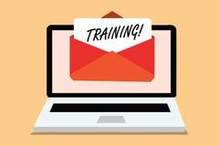 Handskrifttextutbildning Begreppet som betyder en aktivitet, uppstod, när det startade ett nytt jobbprojekt, eller arbetsdatorhäl arkivfoton