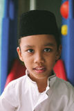 Handsom boy from Malaysia. Malaysia boy with the local wearing Stock Image