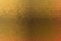 Handsome abstract illustration of brown and red Little hexagon. Nice background for your needs. Handsome abstract illustration of brown and red Little hexagon Stock Illustration
