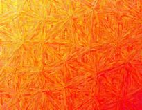 Handsome abstract illustration of orange Colorful Impasto paint. Stunning background for your design stock photography