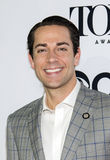 Handsome Actor Zachary Levi stock photography
