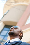 Handsome African American Business Royalty Free Stock Image