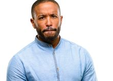Handsome african american man stock images