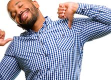 Handsome african american man Stock Photography