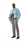 Handsome African business man Stock Photography