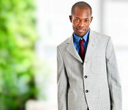 Handsome African businessman Royalty Free Stock Photos
