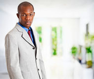 Handsome African businessman Royalty Free Stock Images