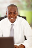 Handsome african businessman Stock Photo
