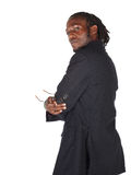 Handsome African businessman Royalty Free Stock Photo
