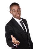Handsome african businessman Stock Image