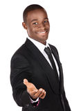 Handsome african businessman Stock Images