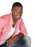 Handsome african man Stock Photography