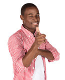 Handsome african man Stock Photos
