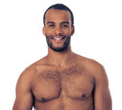 Handsome Afro American man Stock Image