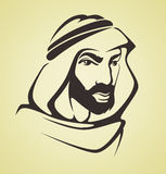 Handsome arabian man Royalty Free Stock Photography
